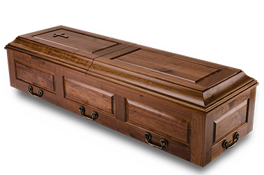 Trappist Caskets made by the Trappist Monks of New Melleray Abbey